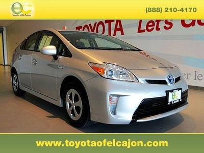 2013 Toyota Prius Hatchback for sale in El Cajon for $20,987 with 38,900 miles.