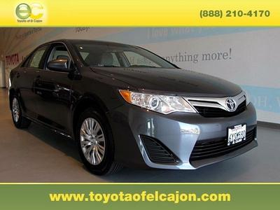 2013 Toyota Camry Sedan for sale in El Cajon for $17,988 with 38,038 miles.