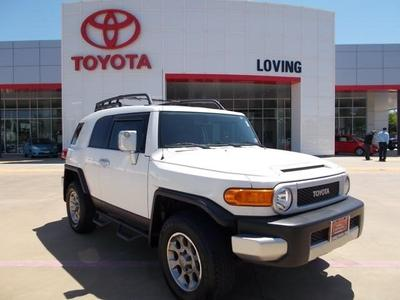 2011 Toyota FJ Cruiser Base SUV for sale in Lufkin for $28,995 with 33,885 miles.