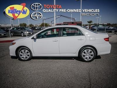 2012 Toyota Corolla LE Sedan for sale in Victorville for $15,586 with 41,449 miles.