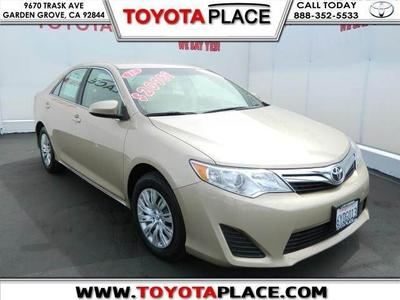 2012 Toyota Camry LE Sedan for sale in Garden Grove for $16,488 with 32,636 miles.