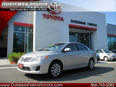 2013 Toyota Corolla LE Sedan for sale in Fairfax for $16,595 with 8,149 miles.