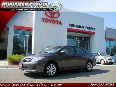 2013 Toyota Corolla LE Sedan for sale in Fairfax for $16,595 with 7,605 miles.
