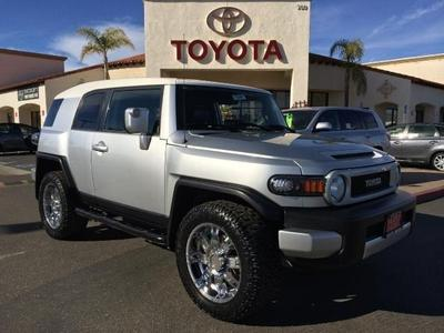 2008 Toyota FJ Cruiser SUV for sale in Santa Maria for $21,900 with 62,273 miles.