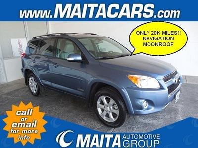 2011 Toyota RAV4 Limited SUV for sale in Santa Maria for $24,000 with 20,664 miles.