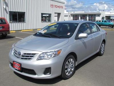 2013 Toyota Corolla LE Sedan for sale in Coos Bay for $17,696 with 29,414 miles.