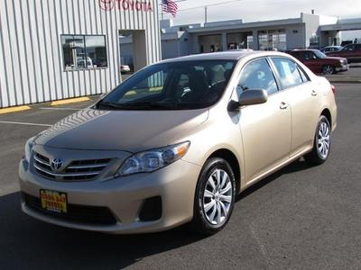 2013 Toyota Corolla LE Sedan for sale in Coos Bay for $15,956 with 27,317 miles.