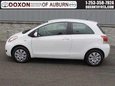 2011 Toyota Yaris Base Hatchback for sale in Auburn for $12,895 with 45,275 miles.