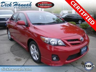 2013 Toyota Corolla Sedan for sale in Kelso for $17,170 with 32,148 miles.