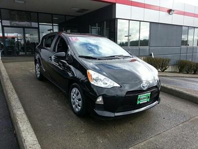 2012 Toyota Prius C Two Hatchback for sale in Vancouver for $18,662 with 18,677 miles.