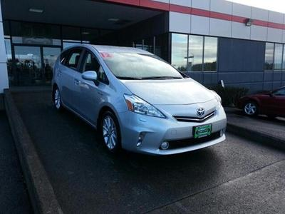 2012 Toyota Prius V Five Wagon for sale in Vancouver for $24,493 with 19,536 miles.