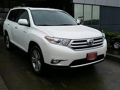 2012 Toyota Highlander Base SUV for sale in Vancouver for $34,991 with 27,367 miles.