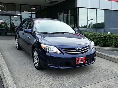 2013 Toyota Corolla LE Sedan for sale in Vancouver for $16,792 with 22,605 miles.