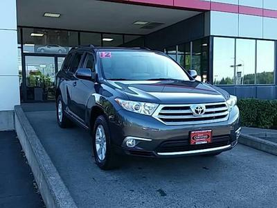2012 Toyota Highlander Base SUV for sale in Vancouver for $26,992 with 64,946 miles.