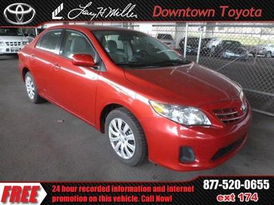 Used Toyota Corolla for $18,998