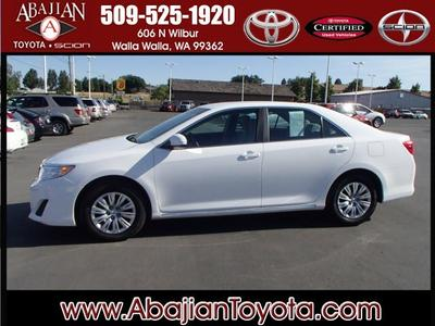 2012 Toyota Camry LE Sedan for sale in Walla Walla for $18,488 with 27,365 miles.