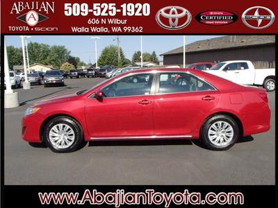 2012 Toyota Camry LE Sedan for sale in Walla Walla for $18,988 with 29,650 miles.