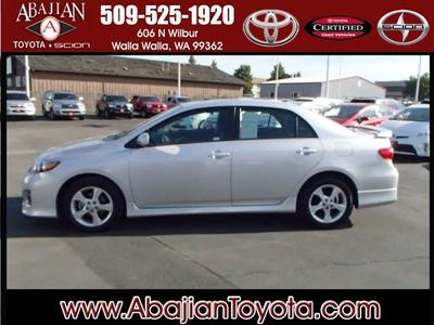 2012 Toyota Corolla S Sedan for sale in Walla Walla for $17,988 with 33,550 miles.