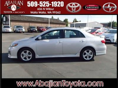 2012 Toyota Corolla S Sedan for sale in Walla Walla for $17,400 with 33,975 miles.