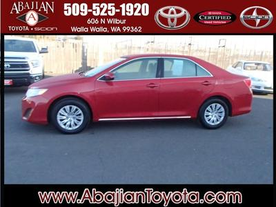 2012 Toyota Camry LE Sedan for sale in Walla Walla for $21,000 with 26,473 miles.