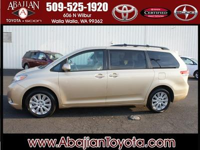 2012 Toyota Sienna Minivan for sale in Walla Walla for $29,000 with 18,967 miles.