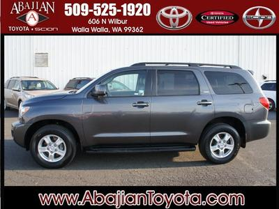 2013 Toyota Sequoia SUV for sale in Walla Walla for $42,000 with 21,798 miles.