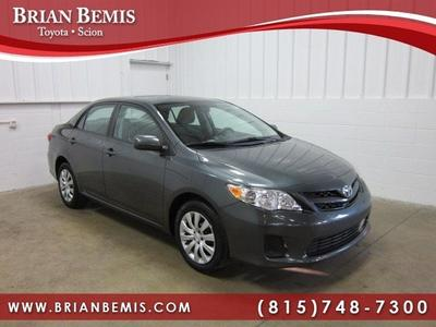 2012 Toyota Corolla LE Sedan for sale in Dekalb for $14,862 with 36,777 miles.