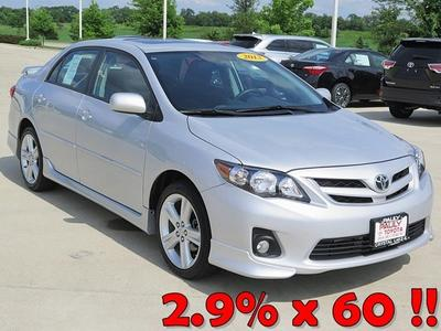 2013 Toyota Corolla Sedan for sale in Crystal Lake for $17,989 with 15,126 miles.