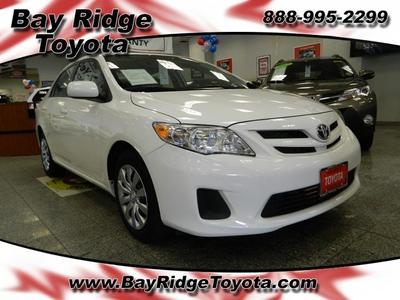 2012 Toyota Corolla LE Sedan for sale in Brooklyn for $14,325 with 40,321 miles.