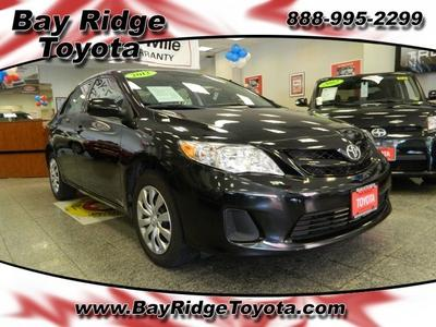 2012 Toyota Corolla LE Sedan for sale in Brooklyn for $15,565 with 47,970 miles.