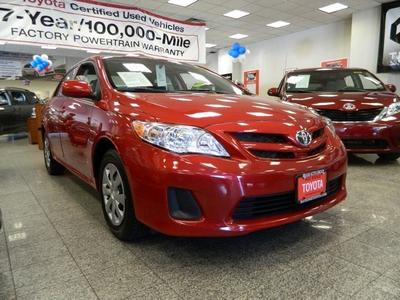 2011 Toyota Corolla LE Sedan for sale in Brooklyn for $13,999 with 34,341 miles.