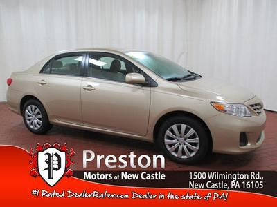 2013 Toyota Corolla LE Sedan for sale in New Castle for $16,899 with 5 miles.