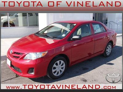 2011 Toyota Corolla Base Sedan for sale in Vineland for $14,995 with 30,835 miles.