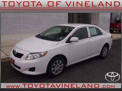 2010 Toyota Corolla LE Sedan for sale in Vineland for $14,990 with 52,919 miles.