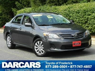 2013 Toyota Corolla LE Sedan for sale in Frederick for $16,488 with 9,803 miles.