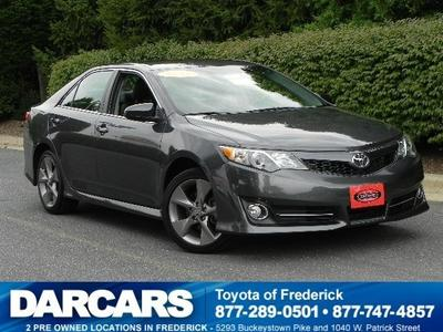 2012 Toyota Camry SE Sedan for sale in Frederick for $21,988 with 20,634 miles.