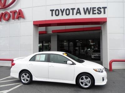 2013 Toyota Corolla Sedan for sale in Statesville for $18,777 with 12,676 miles.
