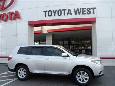 2012 Toyota Highlander Base SUV for sale in Statesville for $27,777 with 22,866 miles.