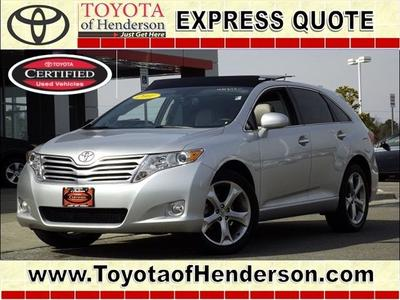 2011 Toyota Venza Base SUV for sale in Henderson for $26,981 with 40,284 miles.