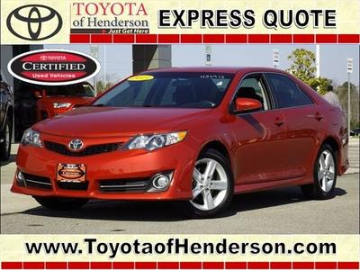 2013 Toyota Camry Sedan for sale in Henderson for $21,581 with 13,624 miles.