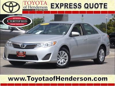 2012 Toyota Camry L Sedan for sale in Henderson for $18,981 with 47,340 miles.