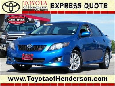 2010 Toyota Corolla S Sedan for sale in Henderson for $14,981 with 57,375 miles.