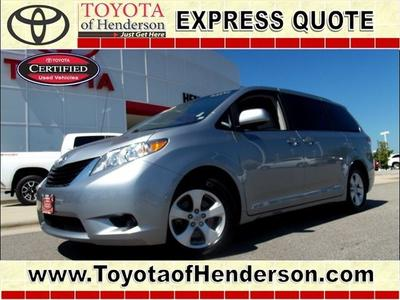 2013 Toyota Sienna Minivan for sale in Henderson for $23,981 with 42,933 miles.