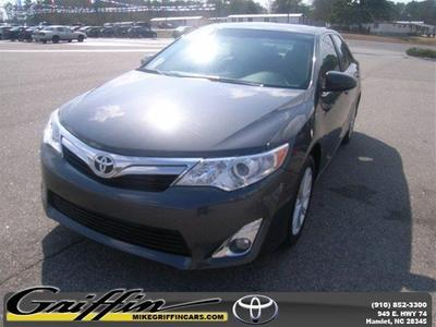 2012 Toyota Camry XLE Sedan for sale in Rockingham for $20,998 with 15,820 miles.