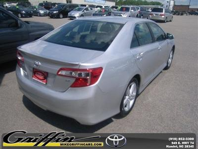 2012 Toyota Camry SE Sedan for sale in Rockingham for $17,998 with 41,226 miles.