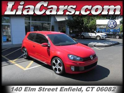 2012 Volkswagen GTI Hatchback for sale in Enfield for $19,397 with 10,769 miles.