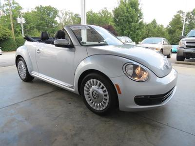 2013 Volkswagen Beetle 2.5L Convertible for sale in Spartanburg for $19,999 with 9,856 miles.