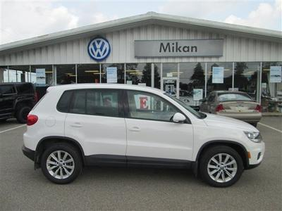 2014 Volkswagen Tiguan S SUV for sale in Butler for $26,988 with 7,839 miles.