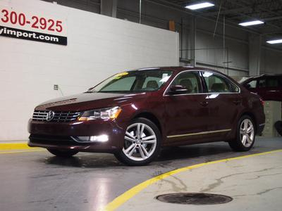2013 Volkswagen Passat 2.0 TDI SEL Premium Sedan for sale in Muskegon for $28,934 with 26,193 miles.