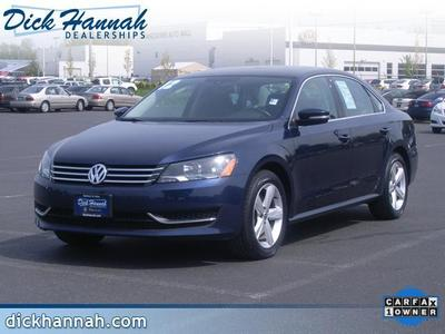 2013 Volkswagen Passat Sedan for sale in Vancouver for $18,500 with 34,661 miles.
